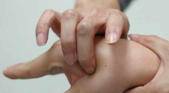 طب فشاری سوزنی با انگشت