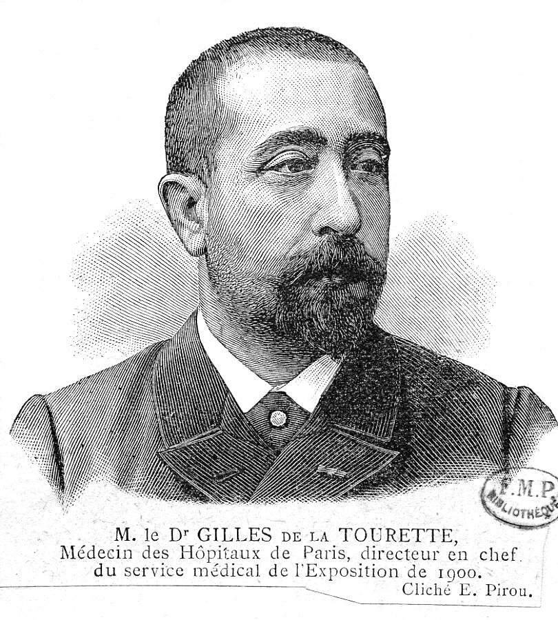 Georges Gilles de la Tourette ژیل دولاتورت