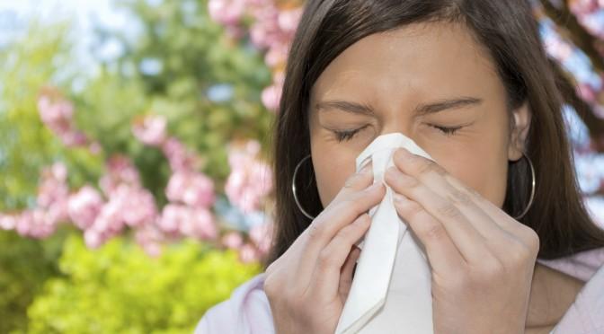 درمان آلرژی با طب سوزنی سنتی درمان آلرژی فصلی